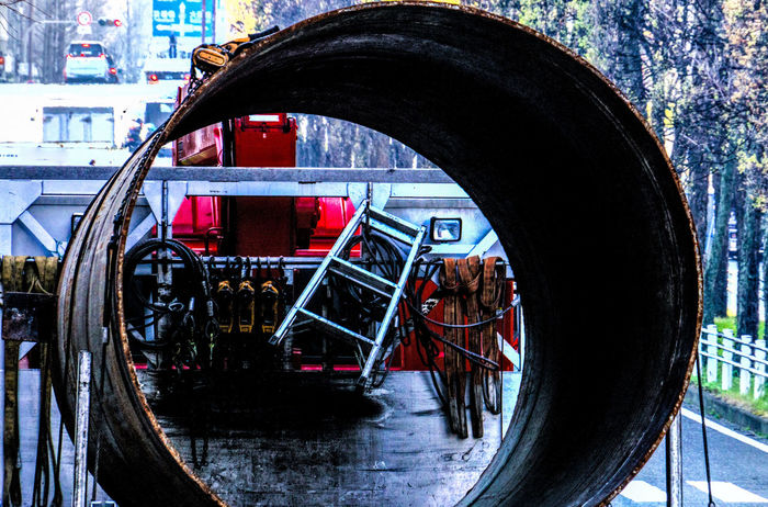 City Wormhole Cityscape Cool HDR Interesting Iron Streetrace Track Tracks Tube Wild