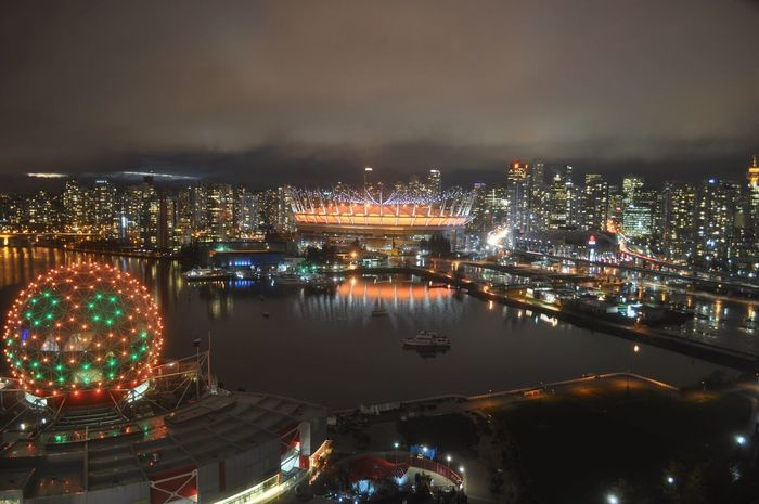 My city. Vancouver Canada BC Place