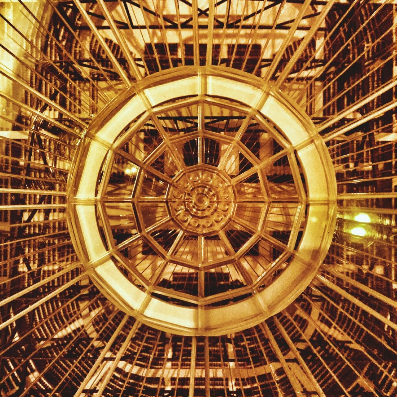architecture, indoors, low angle view, built structure, clock, no people, day, roman numeral, close-up, clock face