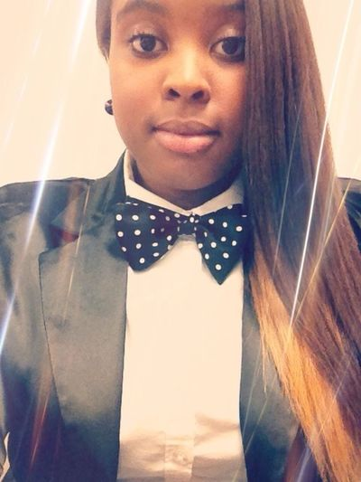 #bowtietuesday I thought I looked cute today