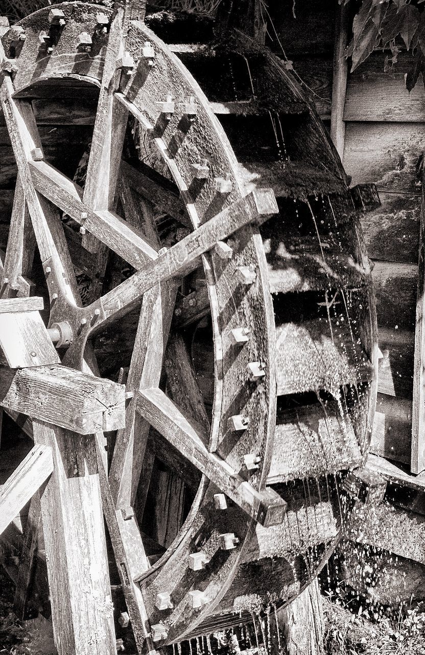 Cropped Water Wheel