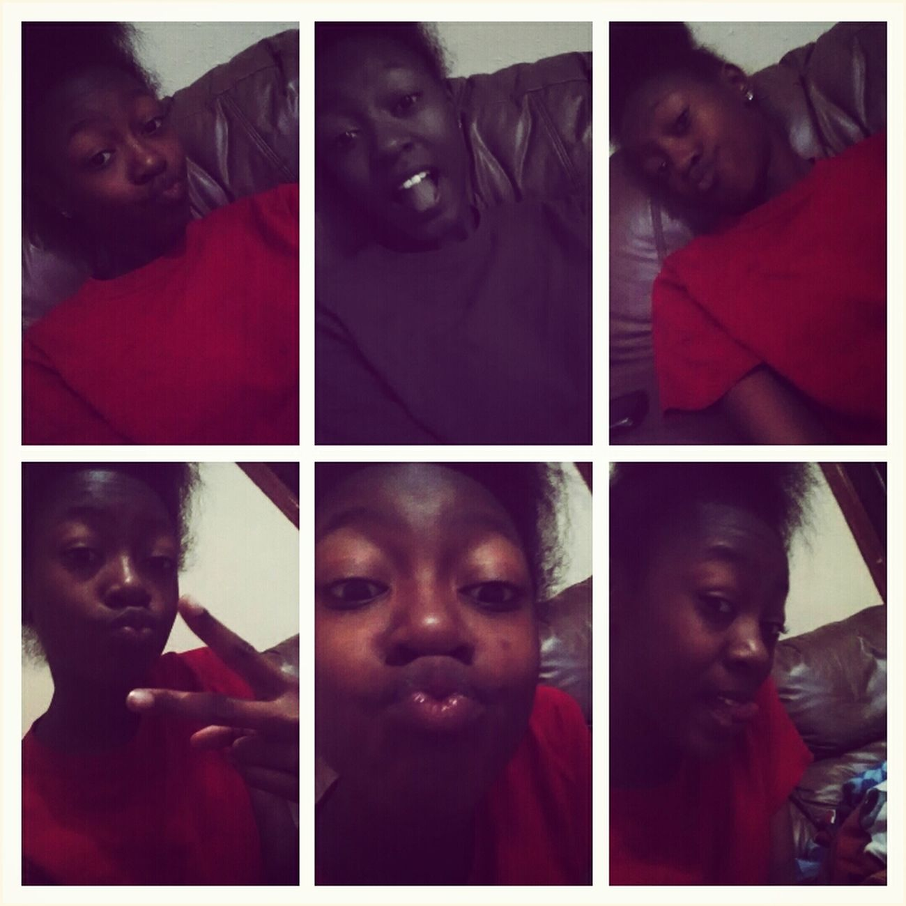 Being Silly .