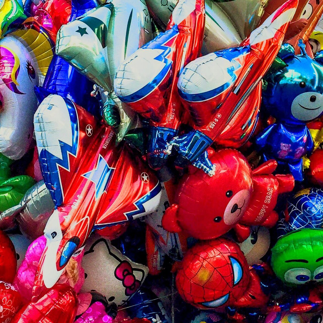 Ballons Backgrounds Full Frame Large Group Of Objects Abundance Multi Colored For Sale Retail  Retail Display Heap Red Outdoors Mask - Disguise Choice Day Vibrant Color No People Colorful