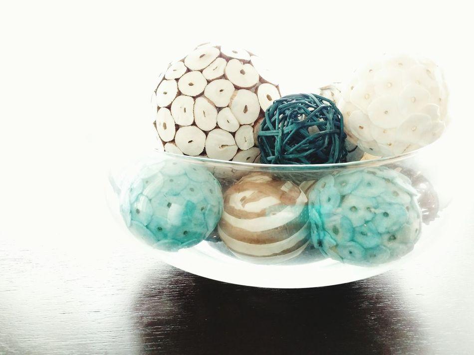 Bowl Balls Ball Circles Circles In Circles Circle Decorations Decoration Staging White Blue