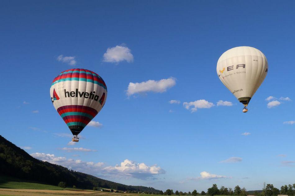 Baloons Balonfahrt Sky_collection Balon Luftfahrt