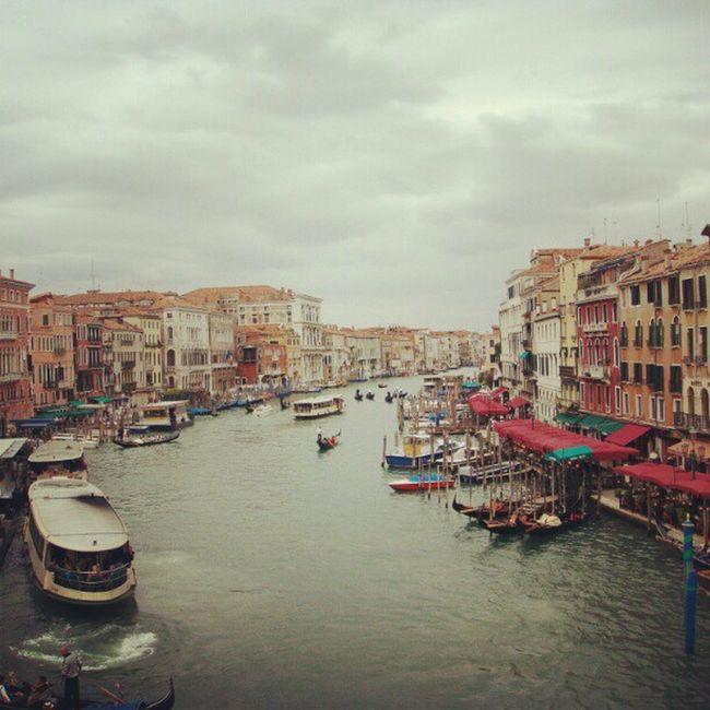 Venice Rialtobridge Italy Taxiboats mytravels