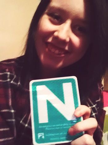 look what i got :) finally got my N License Newdriver Goodvibes Freedom Sohappy😁😄 Finallyfree