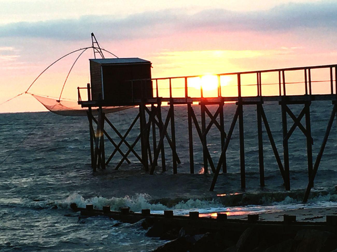 Bretagne Sundown Sonnenuntergang Frankreich Ocean Ozean Meer Travelling Fishing Fisherman