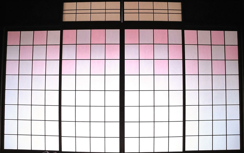 Wabi-sabi Window Multi Colored Indoors  Pattern No People Day Shoshuji Outdoors Outdoors Photography Backgrounds Pink Color Colorful Colourful