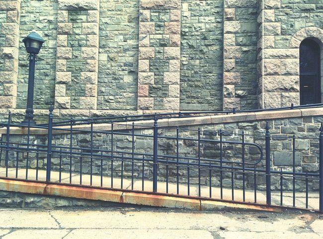 Brick Rail Slanted The Architect - 2016 EyeEm Awards The Street Photographer - 2016 EyeEm Awards Phone Photography EyeEm Best Shots - Architecture EyeEm Best Shots - The Streets My Commute Still Life Fine Art EyeEm Best Shots Fine Art Photography