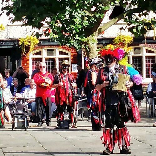 Traditional folk dance festival York MorrisDancers Folk