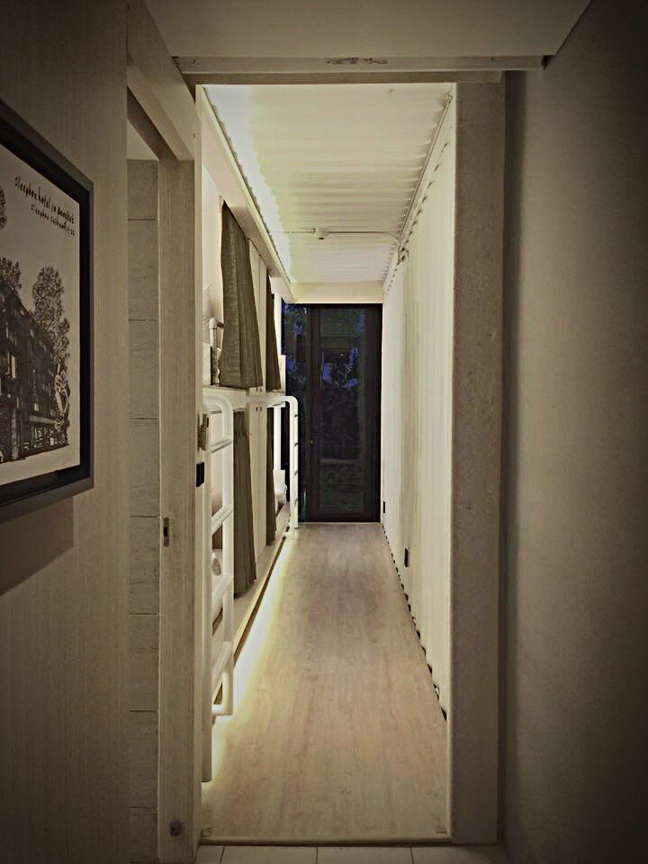 Corridor Indoors  Ceiling Hostel Sleepbox Sukhumvit 22