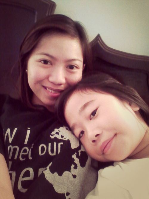 with abby :)