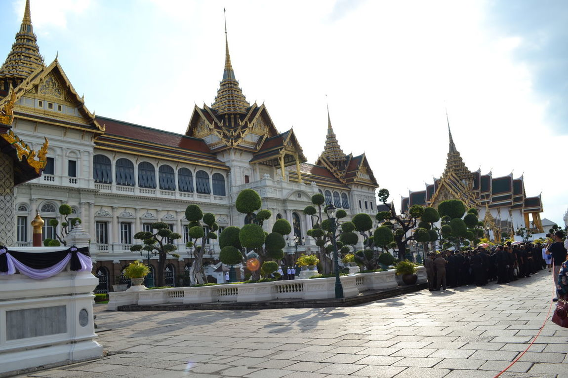 The Grand Palace in Bangkok, Thailand Architecture Architecture ASIA Bangkok Building Building Exterior Built Structure Grand Palace History Royal Residence Thailand Tourism Travel Destinations