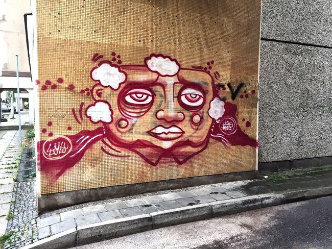 Graffiti Graffiti Art Frankfurt Old Homestead Oder Frankfurt's Life Frankfurt An Der Oder Old House Art Stree Art Streetart/graffiti Streetart #street #streetphotography #tagsforlikes #sprayart #urban #urbanart #urbanwalls #wall #wallporn #graffitiigers #stencilart #art #graffiti #instagraffiti #instagood #artwork #mural #graffitiporn #photooftheday #stencil #streetartistry #photograp Art Of Street Red Color Portrait Stone Wall