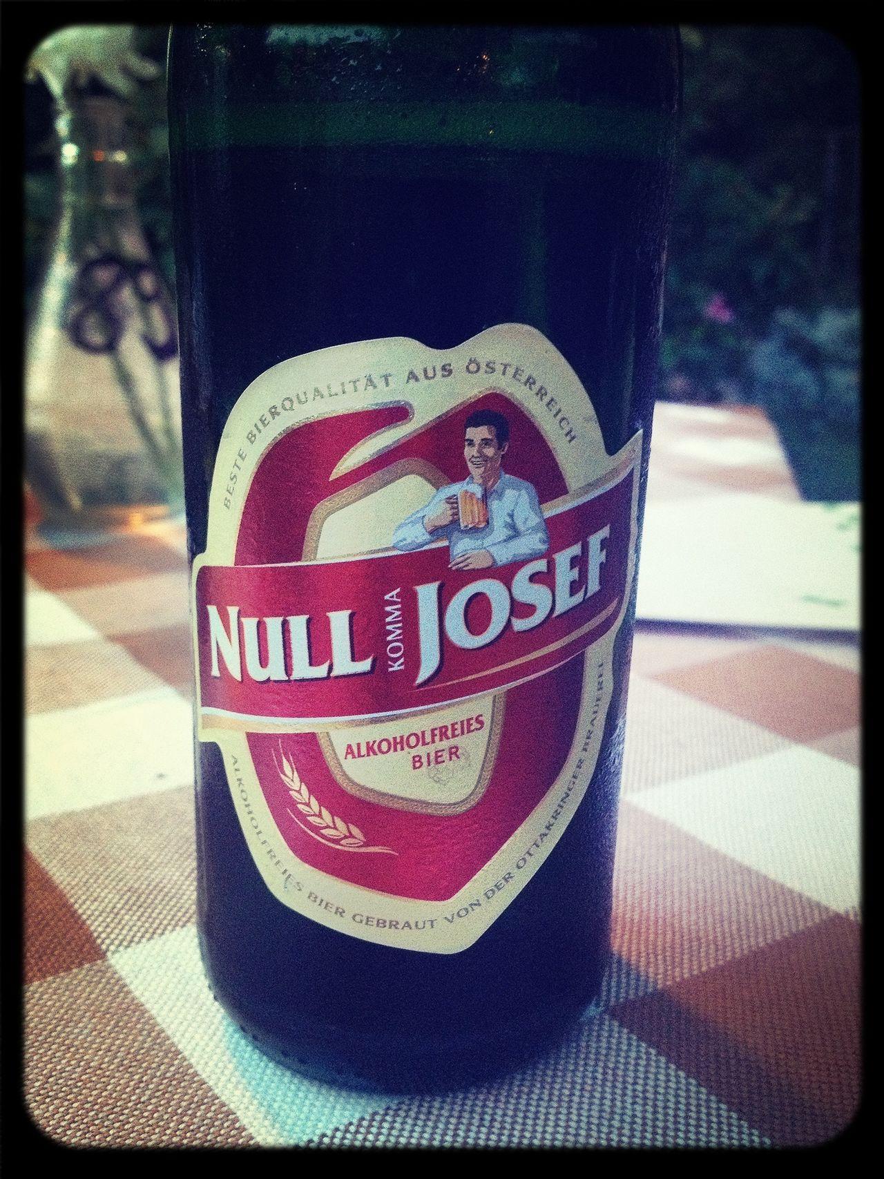 Null Komma Josef - Bester Name für Alkoholfreies Bier - Prost!