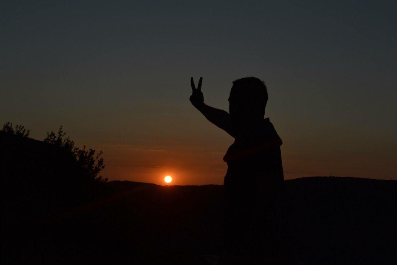 özgürlük Freedom Sunset Only Me Hello World Peace Istanbul ıstanbul, Turkey Yoros Kalesi Nice Day Castle