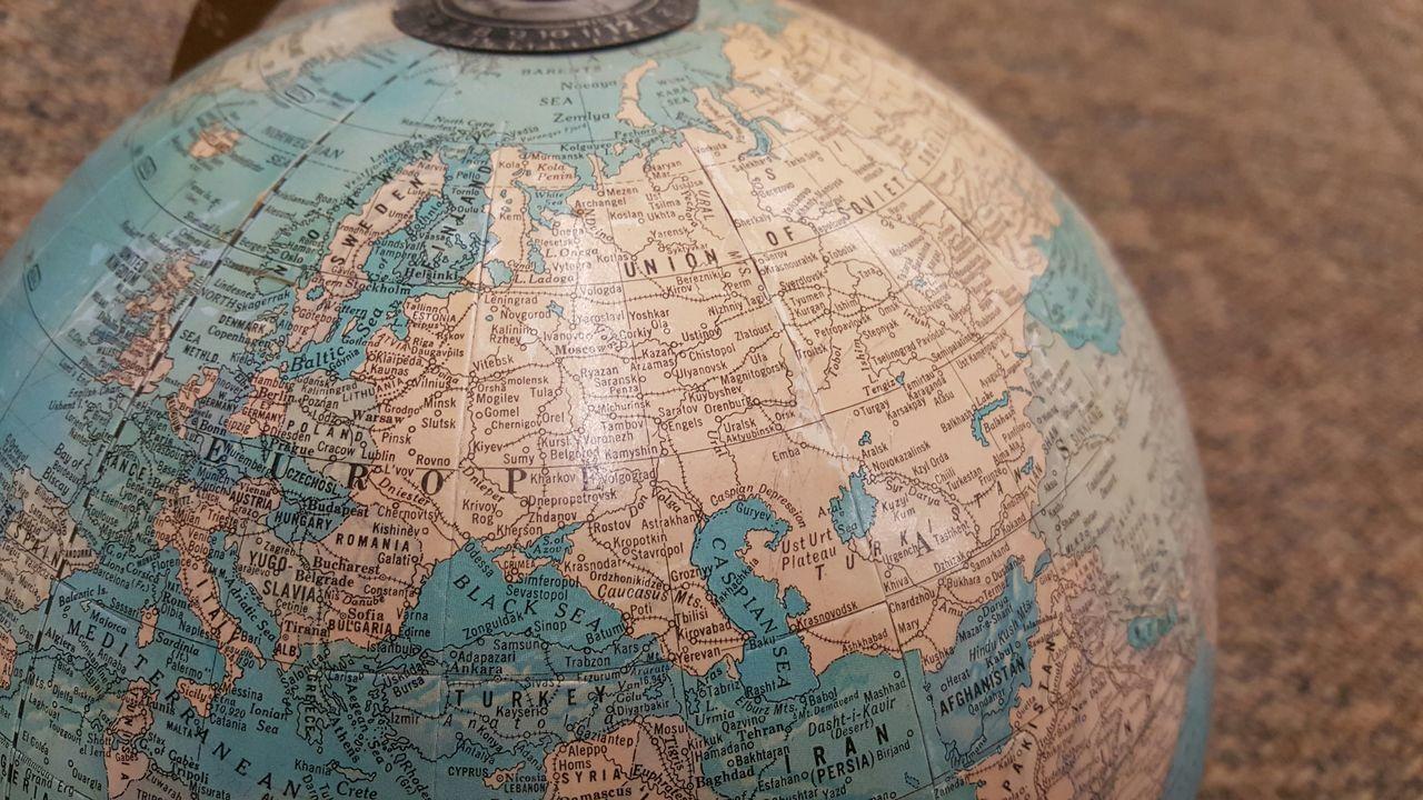 Millennial Pink Unedited Globe Obsolete Ussr Yugoslavia Czechoslovakia World Map Focus On Foreground Historical Educational Aids Geography Geopolitics EyeEm Diversity Break The Mold Connected By Travel Connected By Travel
