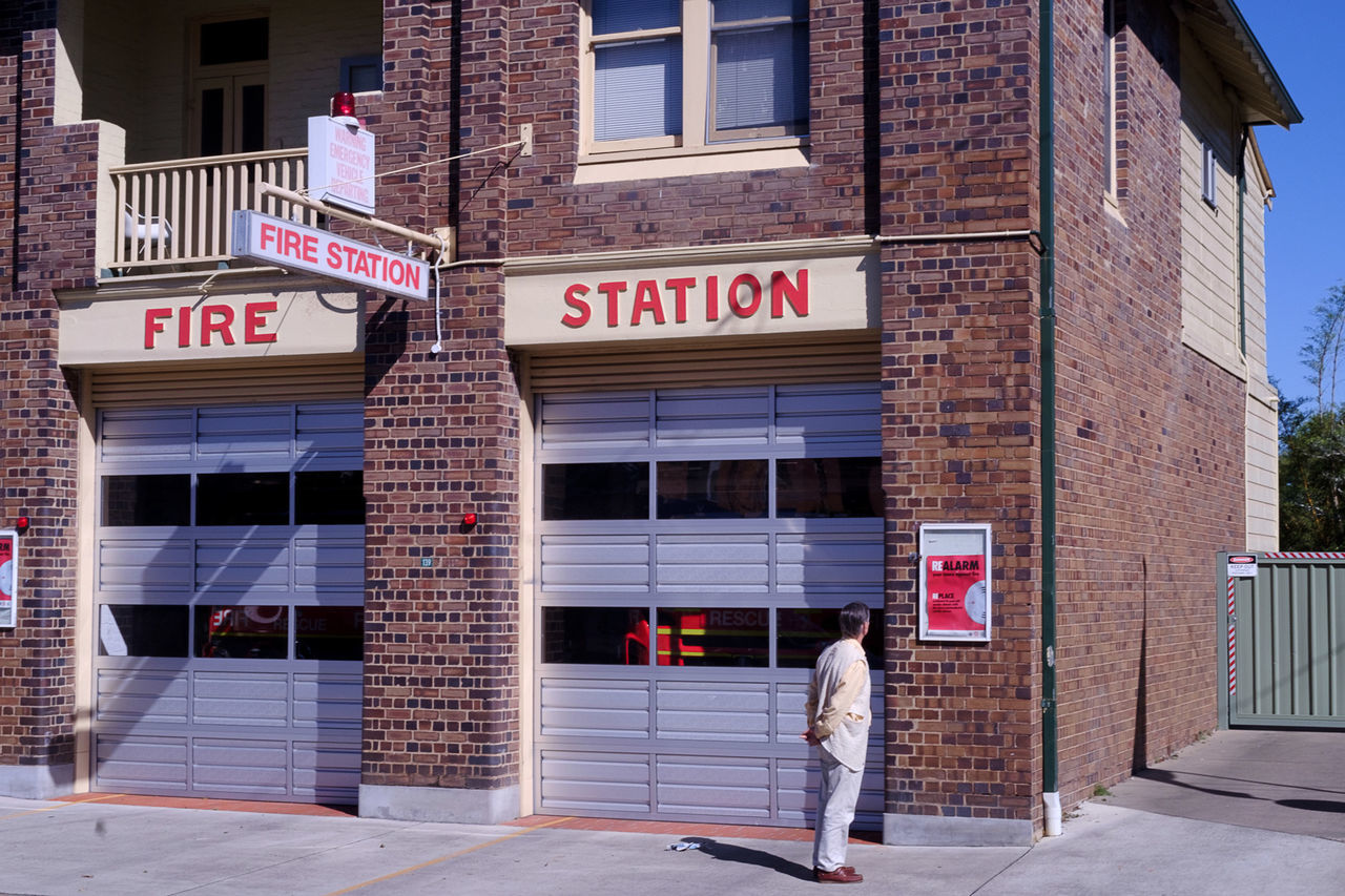 Lismore Fire Station Street Streetphotography Visitnsw TakeoverContrast