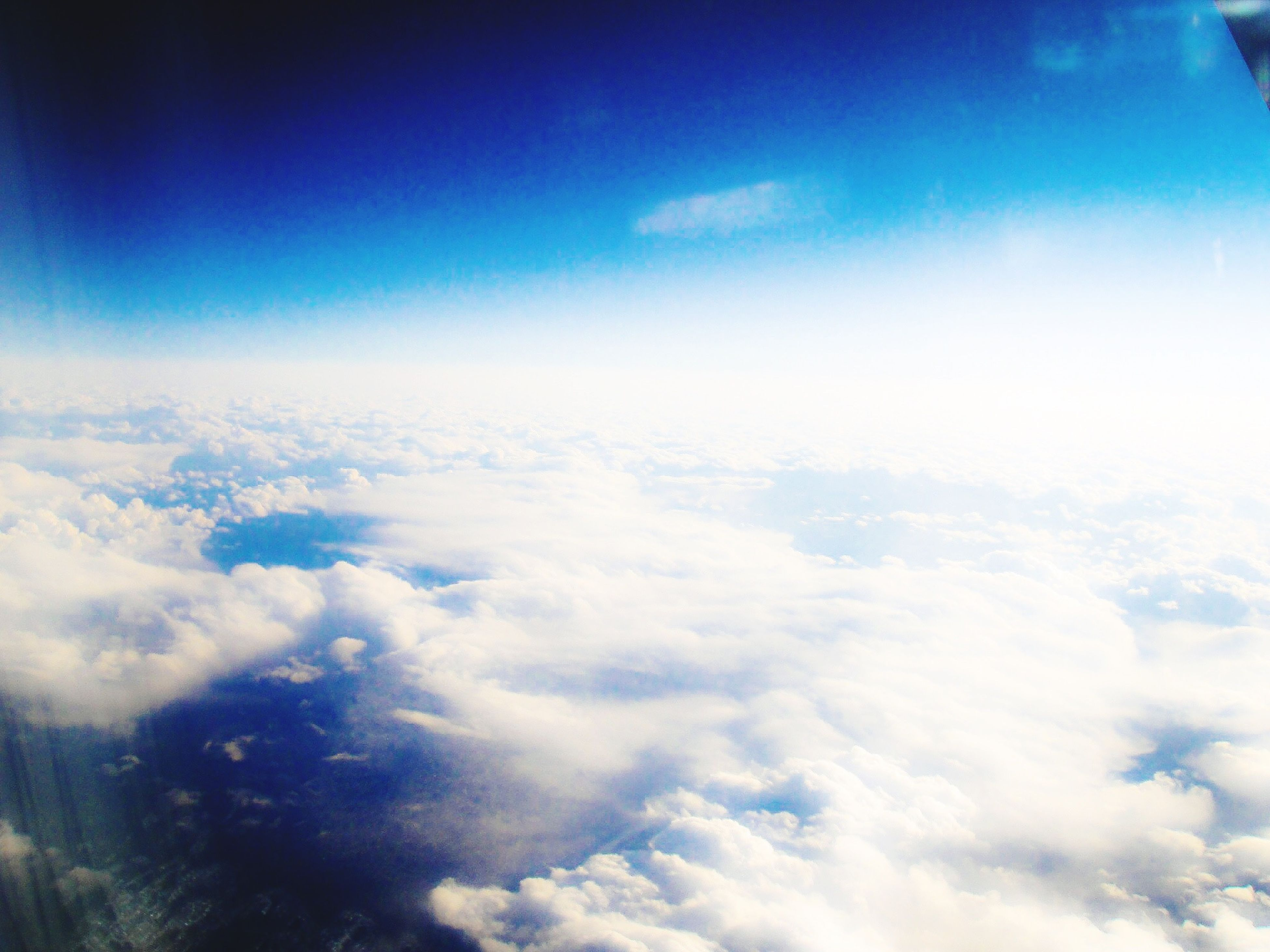 blue, sky, beauty in nature, scenics, tranquility, tranquil scene, cloud - sky, nature, sky only, cloudscape, cloud, idyllic, aerial view, backgrounds, low angle view, majestic, no people, day, outdoors, cloudy
