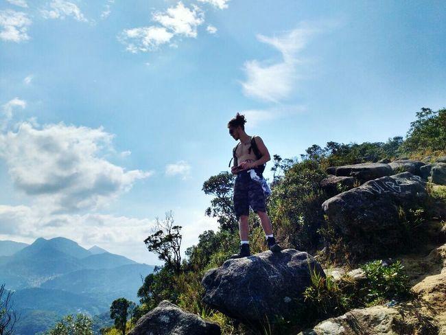 Nature Hiking Rainforest