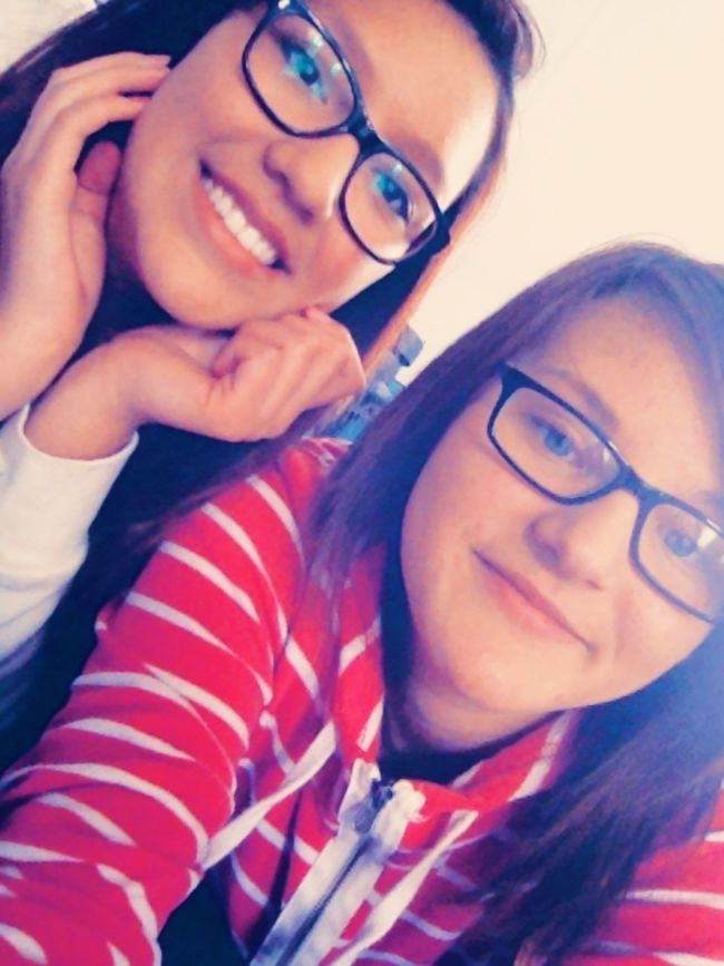 With The Best Friend :)