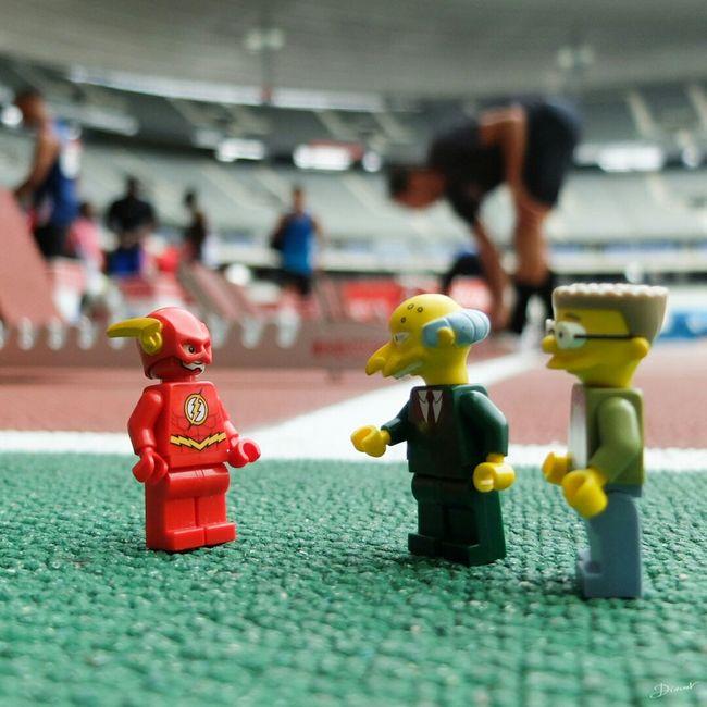 C'est le remplaçant d' UsainBolt Mr. Burns .. Parfait Smithers . Meeting Areva Great Performance Powell