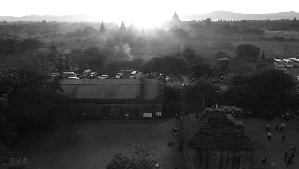 Sunset_captures Bagan_the_ancient_city_of_burma Huawei P9 Plus Bagan Trip Travel Destinations Bagan In Myanmar