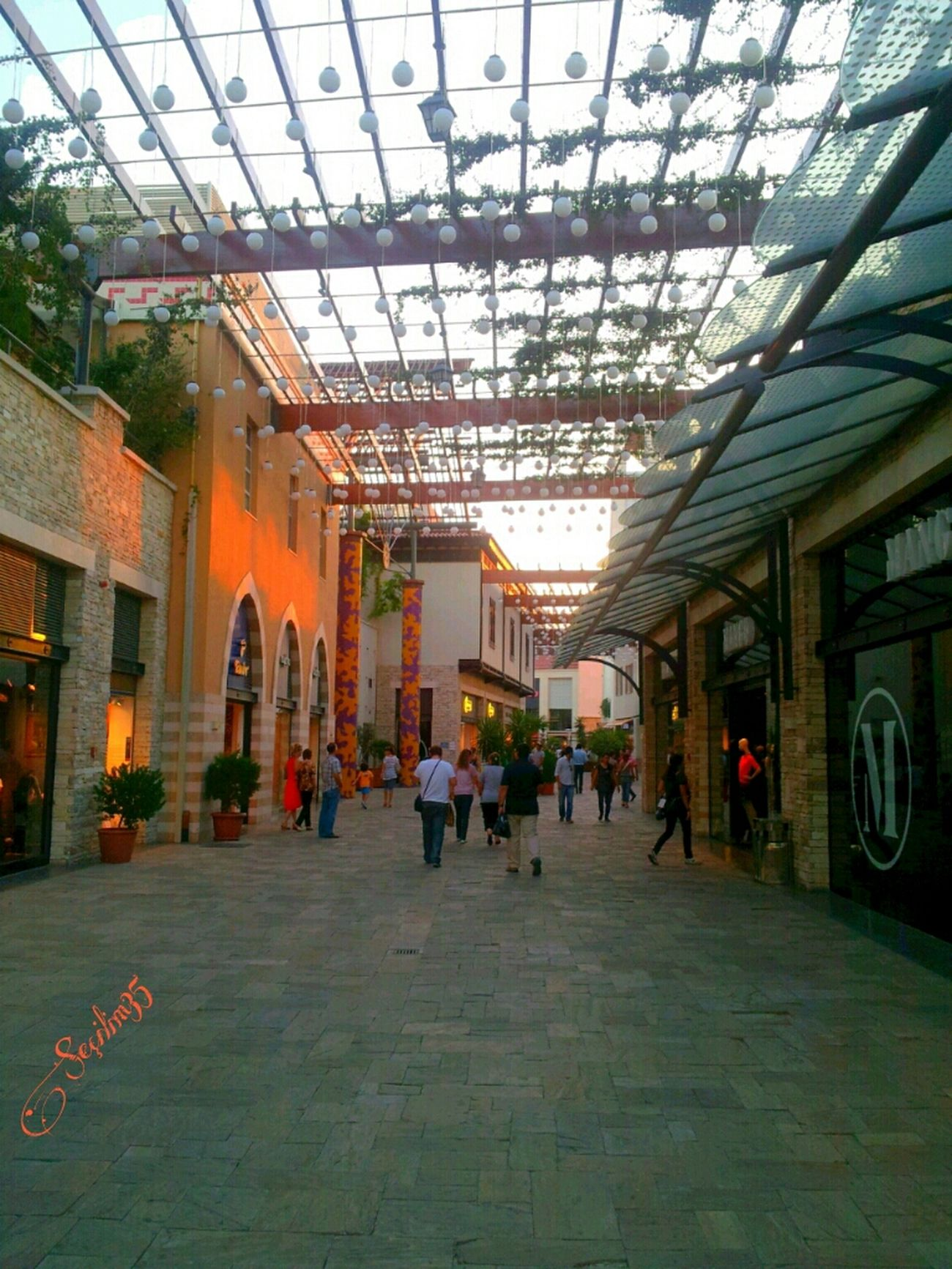 Bu gunume gunesim ol :) Have a wonderful day :) Reflection Summer Sunset Shadow Izmir Sun_collection Nature_collection Brick Trick