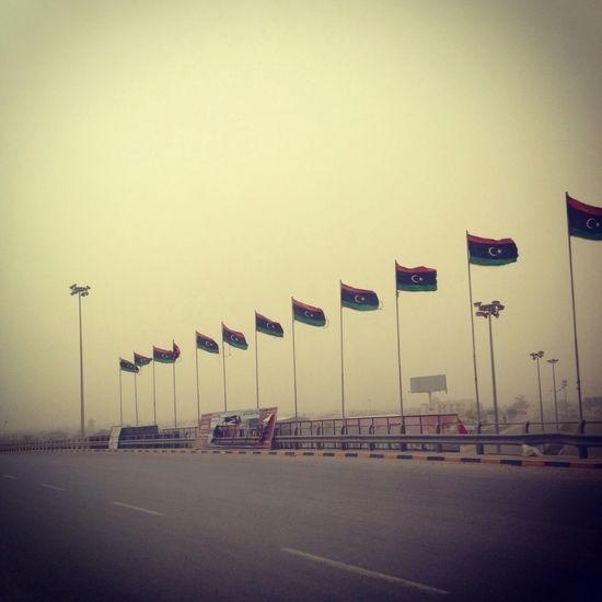 By me :K.A.J Flag Libya Pepole Libya Misurata