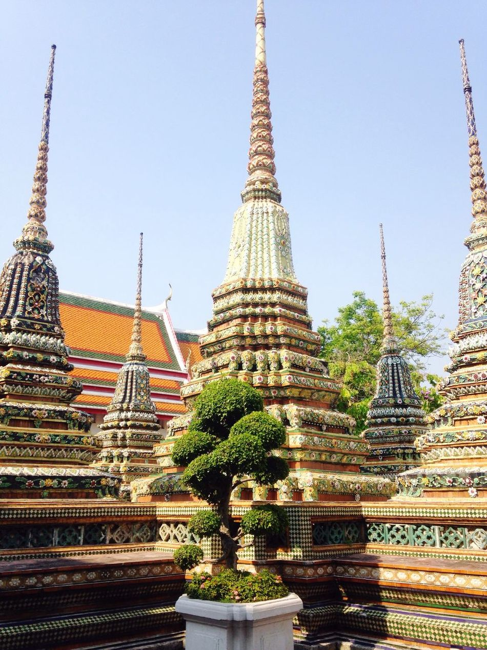 Spirituality Buddhist Architecture Buddhist Temple In Thailand One With Nature Bonsai Grand Palace Bangkok Thailand