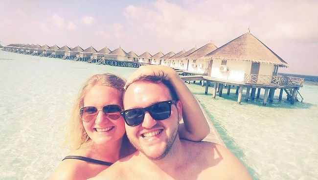 My brother and his wife on honeymoon. :-) <3 Enyoing Life Love You Happy Selfie