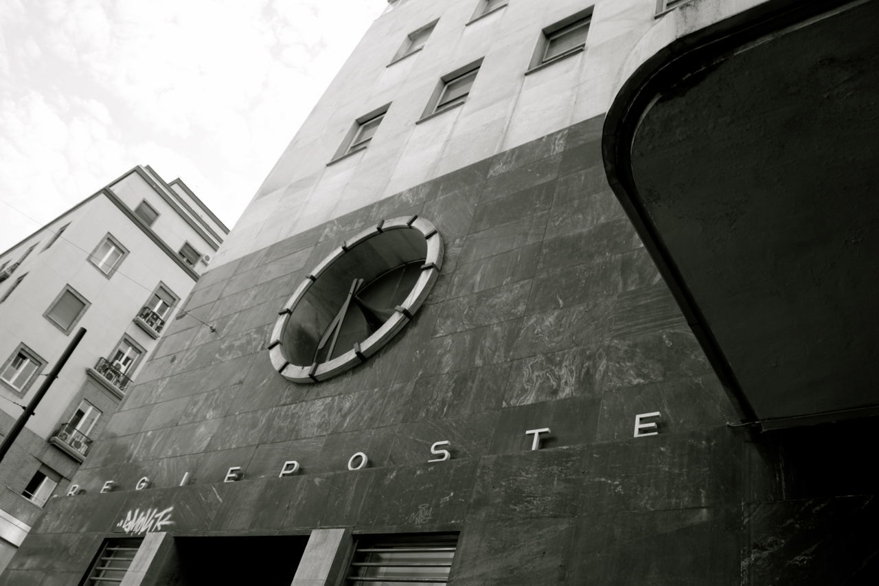 Architectural Detail Architecture Architecture_collection Blackandwhite Building Exterior Built Structure Day Fascistarchitecture Monochrome Napoli No People Post Office Rationalism Razionalismo Ventennio