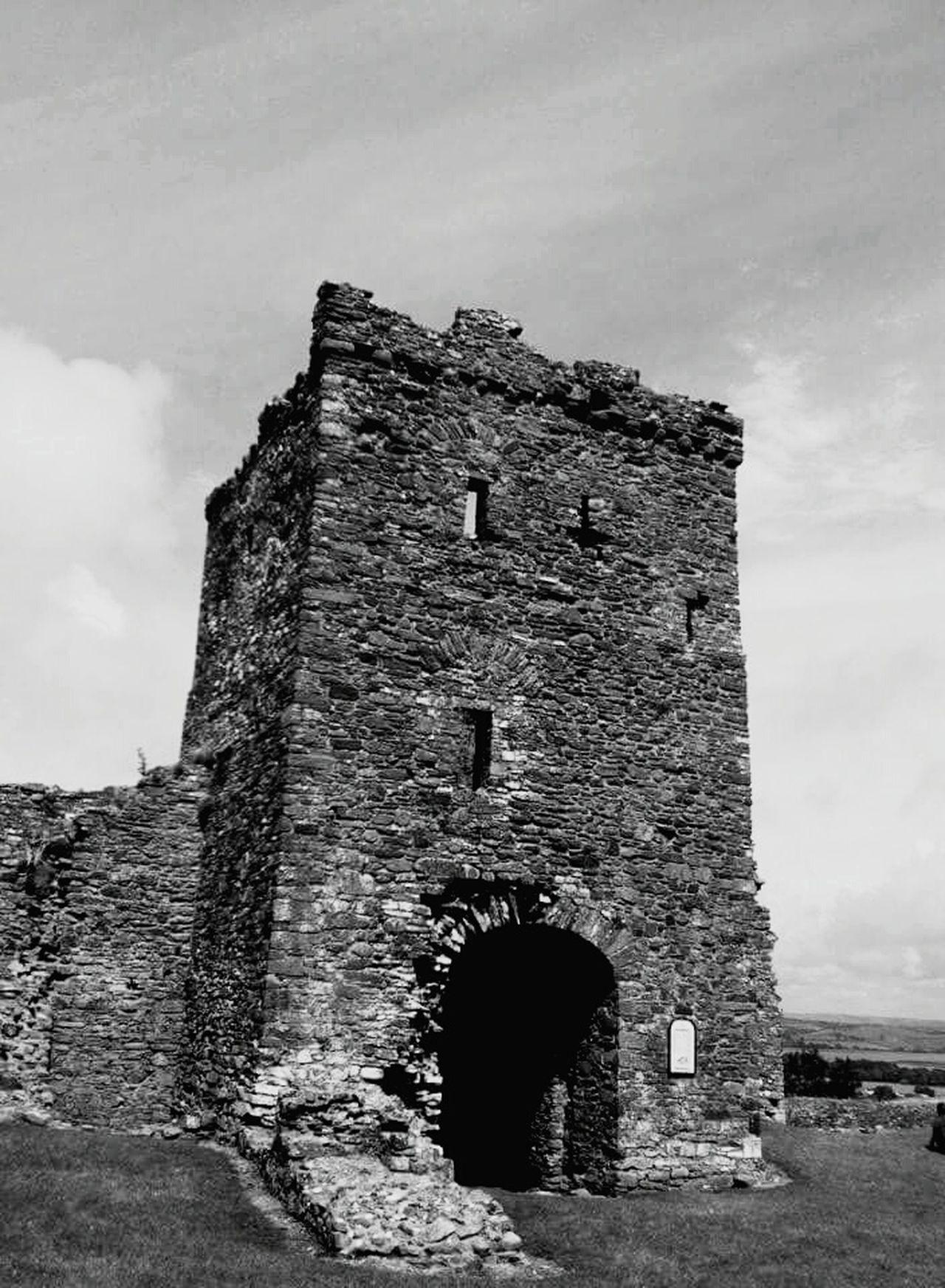 Llansteffan Castle Naturescape Natural Scenery Scenic View Blackandwhite Beautiful Towers Castles