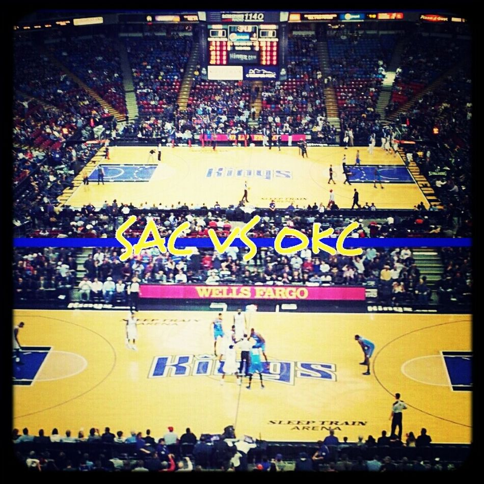 #okcthunder my first NBA game
