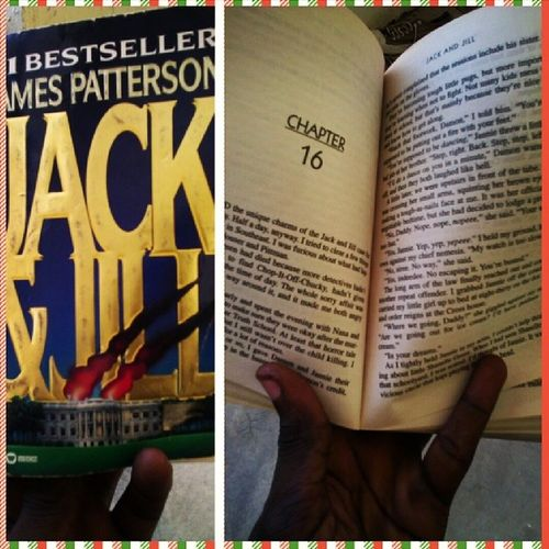 Reading about Alex Cross, a brilliant homicide cop. Guys, Jackandjill is my Saturday read. Bookworm AStoryADay Knowledge