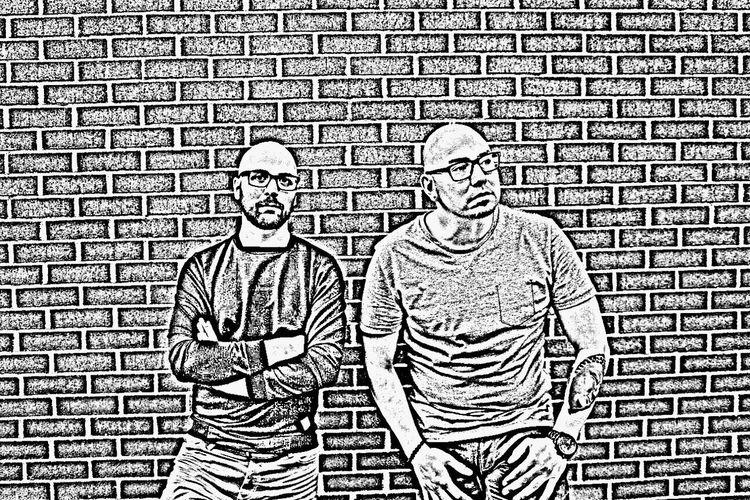 CandelaWyseman Michel Castilloux Montréal Dj Housemusic Music Lovers Brick Wall Filter Man