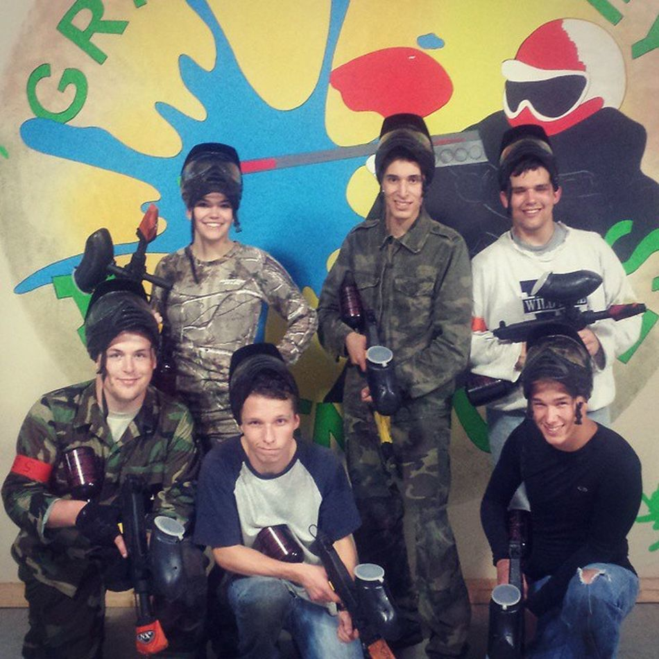Paintballin with the crew. Definitely going to have to do this again! Funshit Paintball Friends @dreambig_forever19 @skilletfan94