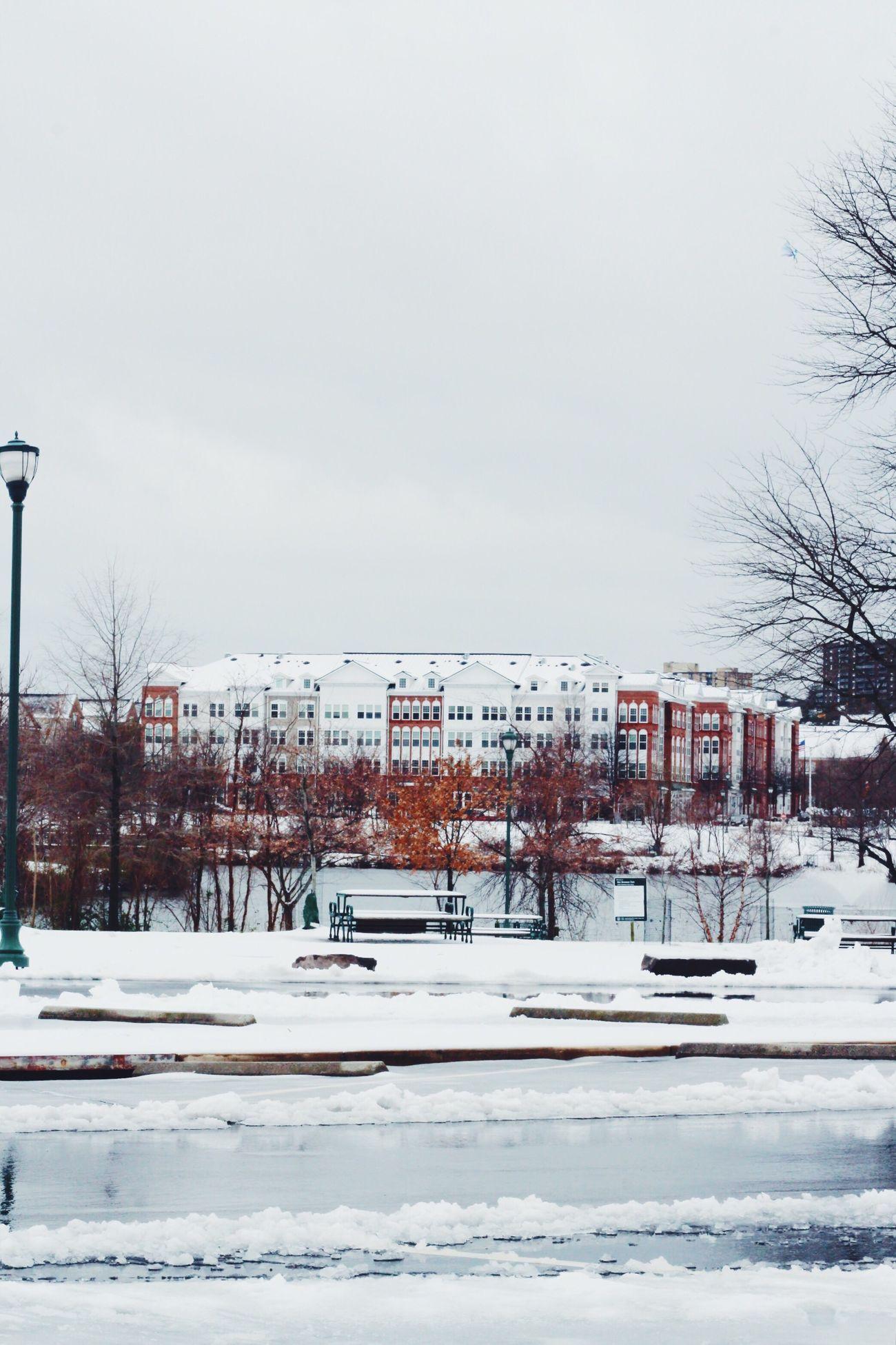 Winter Snow Outdoors City Nature Architecture Virginia East Coast EyeEm Best Shots - Landscape Landscape_Collection