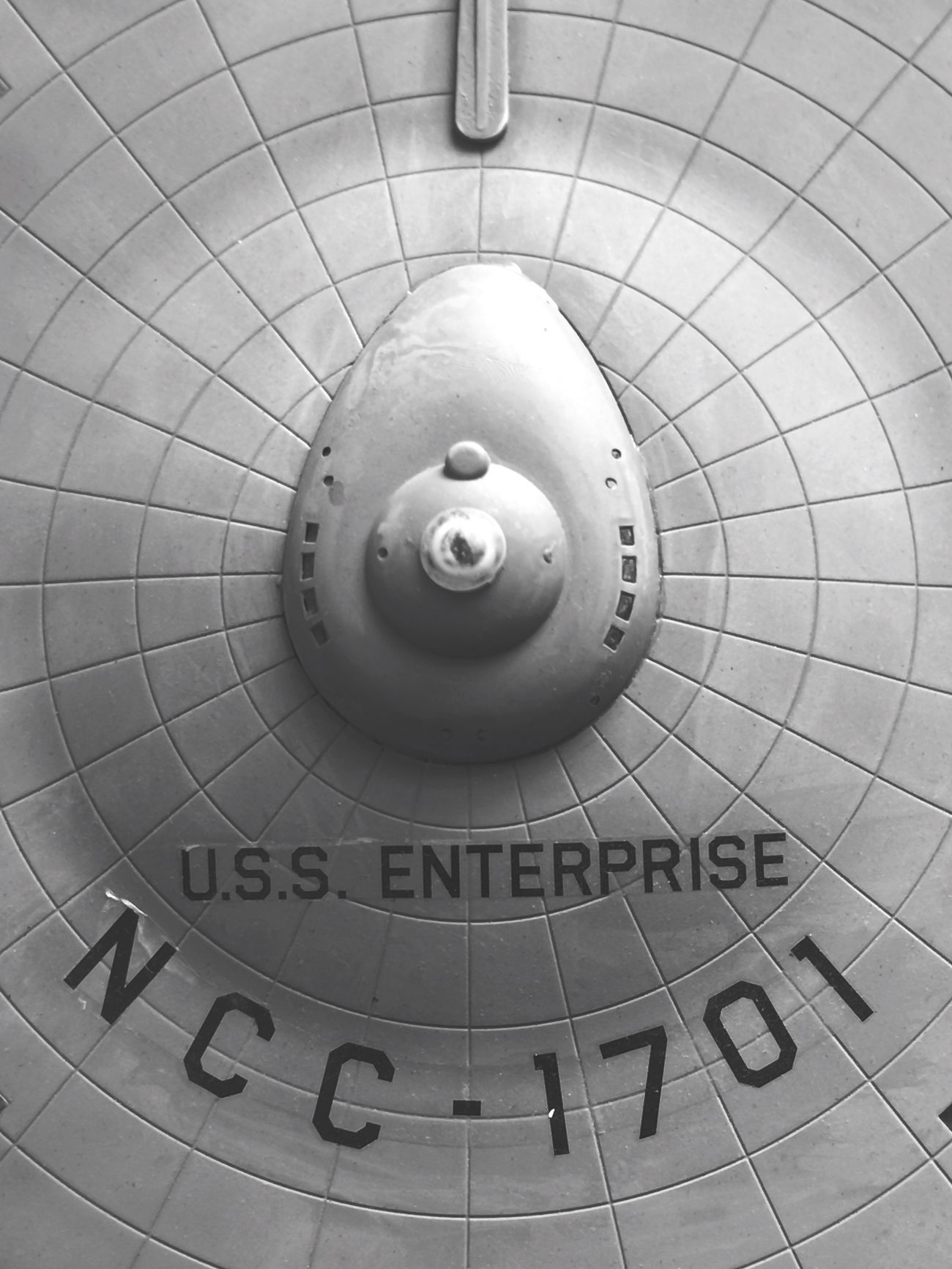Plastic model, Constitution Class 'USS Enterprise - NCC-1701' Close-up Convenience Geometric Shape Man Made Object No People Startrek History Journey