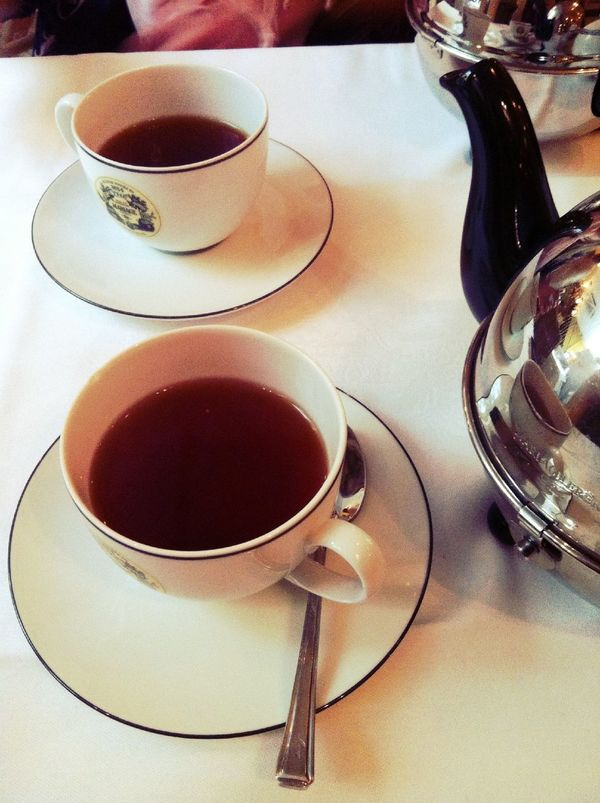 Tea time at Mariage Freres Tea Time
