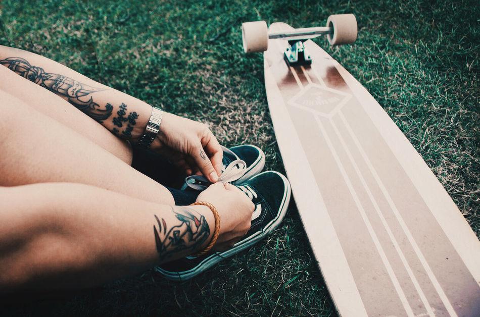 Adult Board Boarder Boardwalk Boaring Fashion Girl Hipster Human Hand Ink Inked Long Long Exposure Longboard Longboarding S Skate Skateboard Skateboarding Skating Sky Tattoos Vans Woman Women