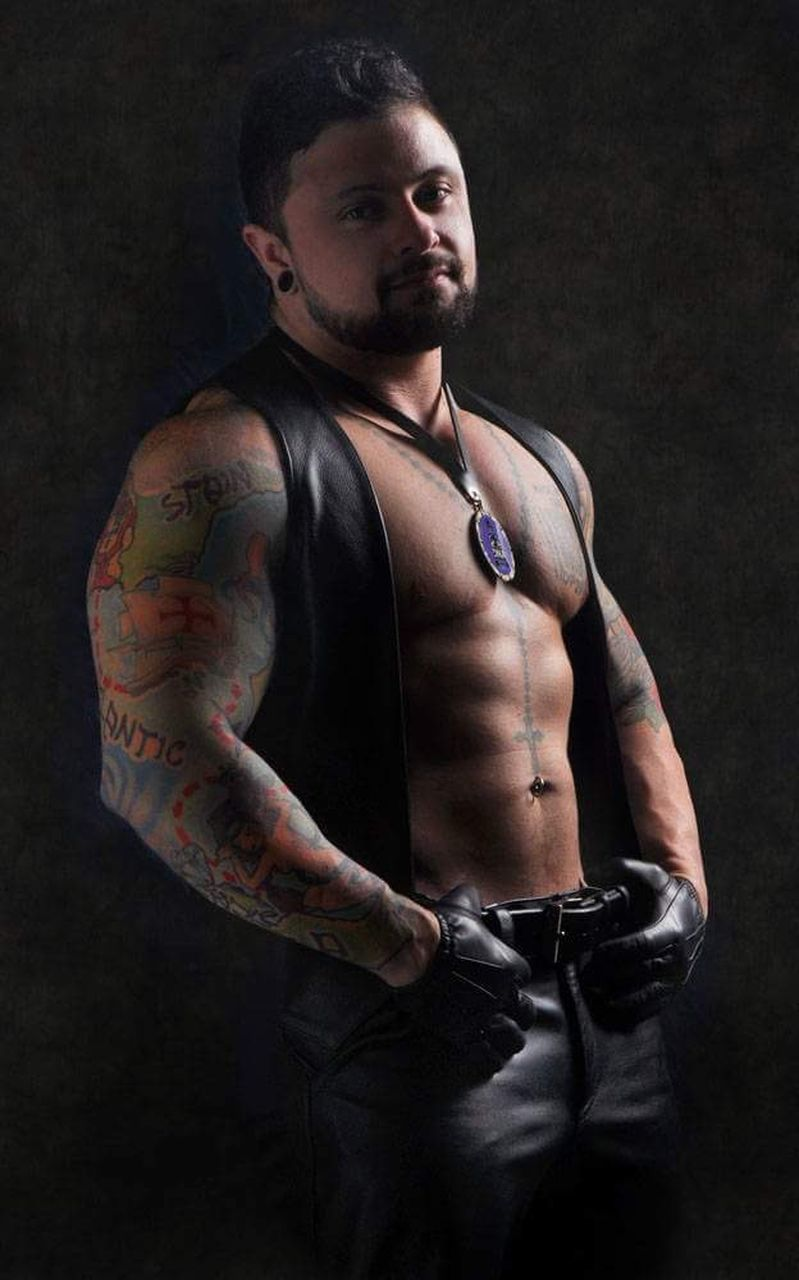 tattoo, only men, one man only, shirtless, muscular build, adults only, one person, fashion, individuality, adult, portrait, studio shot, strength, one young man only, men, young adult, people, black background, macho, human body part, masculinity