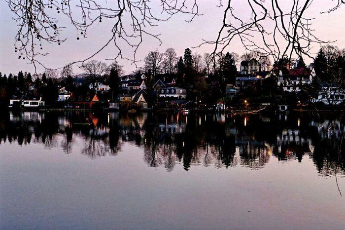 Last Days Of Summer on Lake Genval Belgium . Sunset Dusk Eye4photography  Streetphotography Landscape_photography Landscape My Best Photo 2015