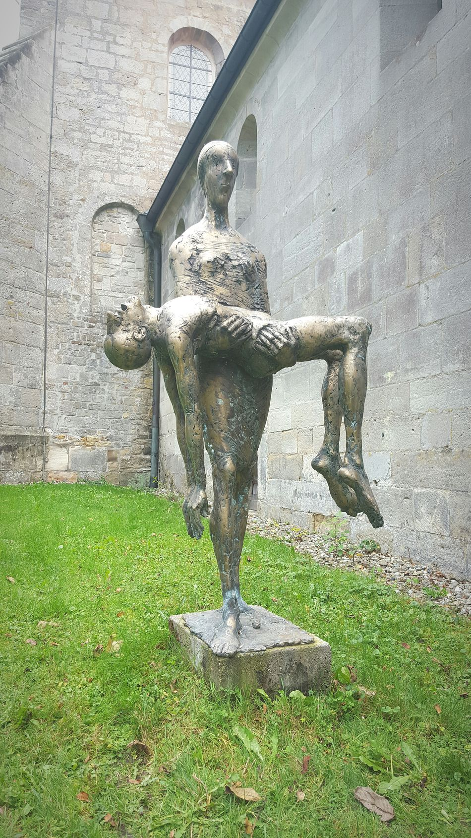 Ohne Worte Stilleben Kunstwerk Kunst Statue Gedankenbilder Ruhe Klostergarten