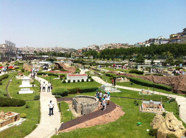 Park with mini versions of Turkey's attractions. Ancient Architecture Beautiful And Colourful Built Structure City Interesting Places Tourism Travel Destinations