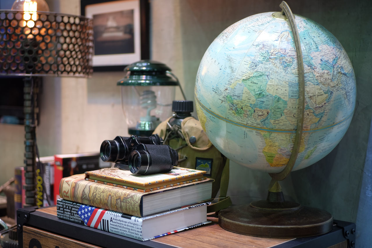 Home decor of motorcycle booth in Thailand motor expo 2016 A Globe With A Map Of The World Art Book Booth Decor Decoration Event Exibition Exibition Hall Globe Home Decor Home Decoration  Indoors  Lifestyle Lifestyles Motorcycle Booth Present Room Shopping Show Style Thailand Motor Expo 2016