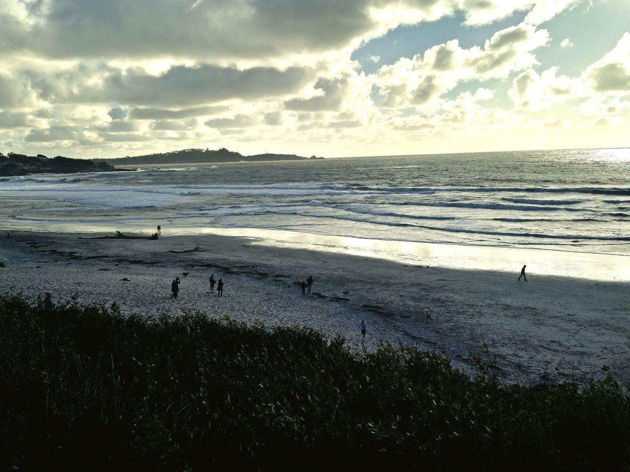 Carmel beach. Where I found serenity. Soothing my burning soul