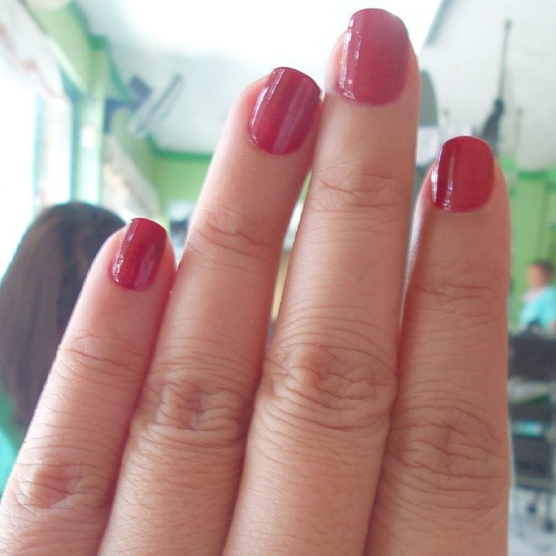 Bloody nails Pamperedgf Red Painted