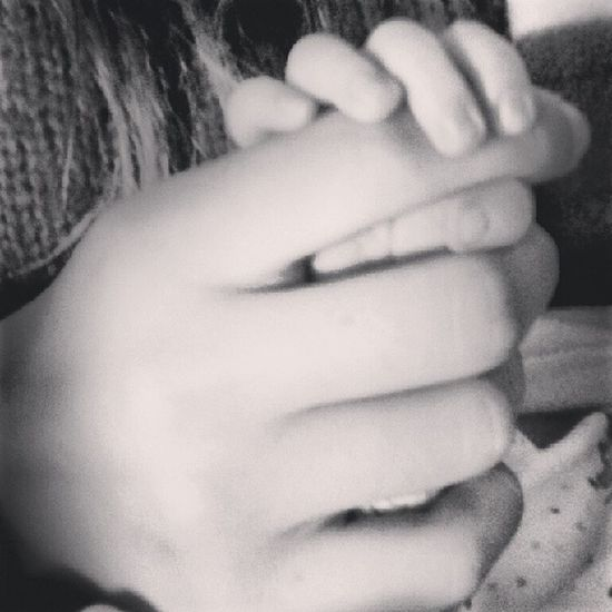 baby brother's hands in mine♥ Brothersisterlove Babylove Babybro Boy